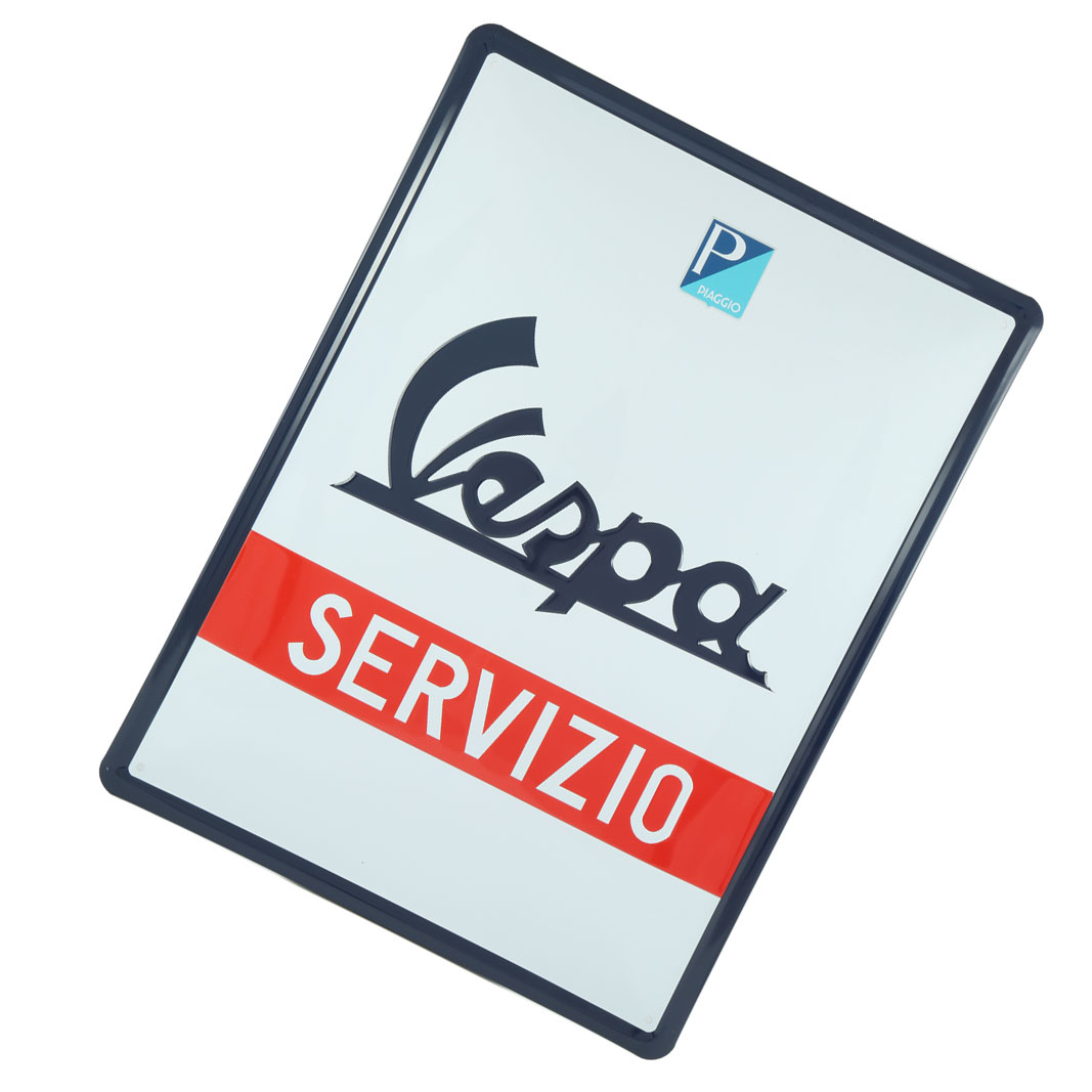 تابلوی دکوری وسپا مدل Servizio سایز 30X40