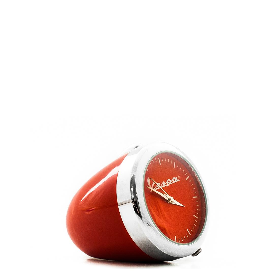ساعت رومیزی رنگی کوچک وسپا قرمز