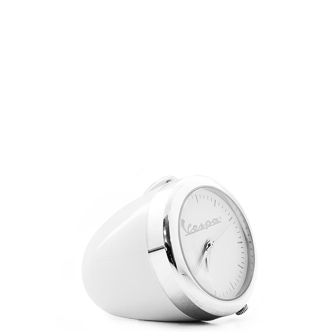 ساعت رومیزی رنگی کوچک وسپا سفید