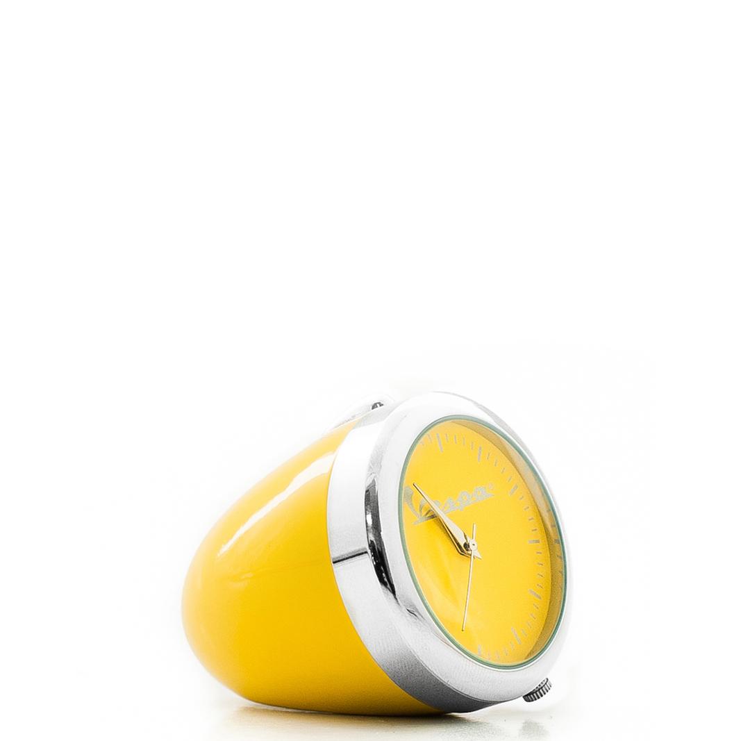 ساعت رومیزی رنگی کوچک وسپا زرد