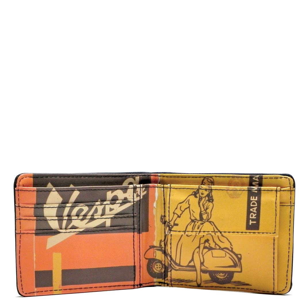 کیف پول وسپا مدل  ORANGE