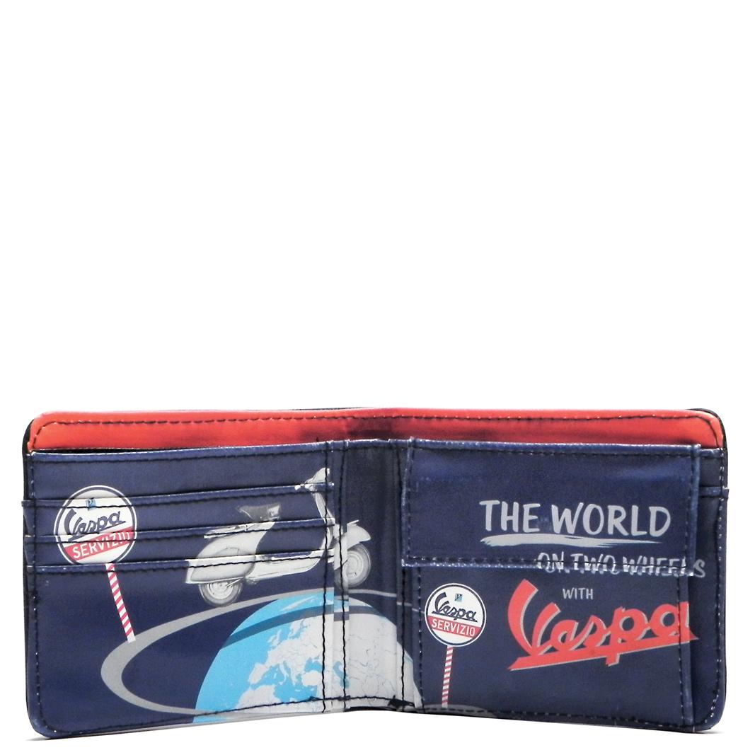 کیف پول وسپا مدل THE WORLD