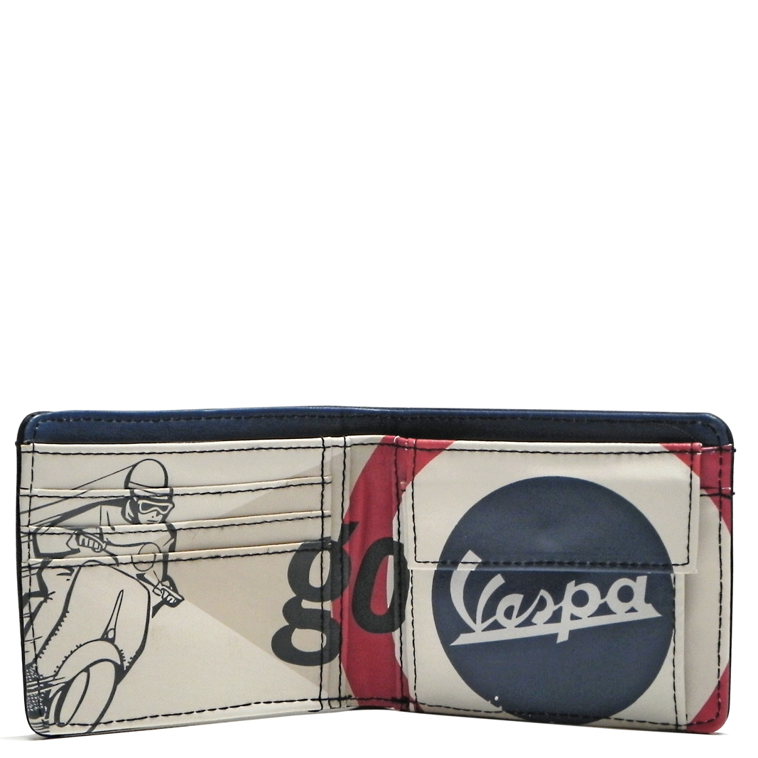 کیف پول وسپا مدل GO VESPA