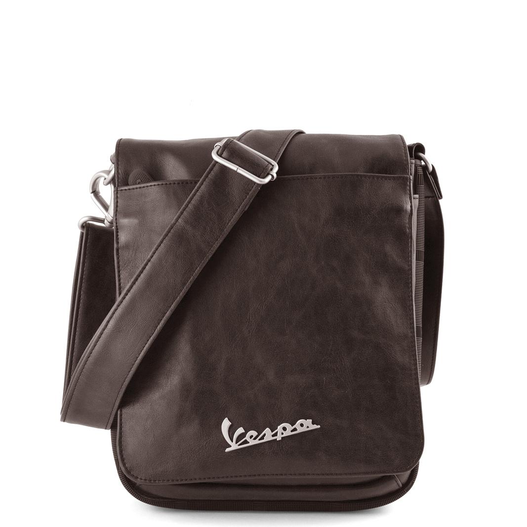 کیف دوشی تبلت وسپا - رنگ قهوه ای