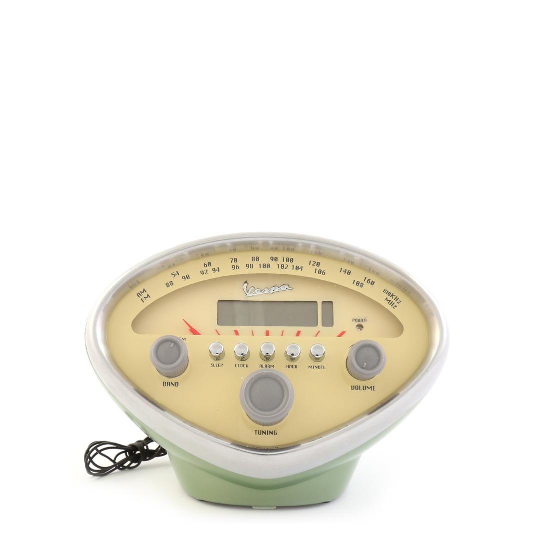 رادیو ساعت زنگ دار وسپا سبز