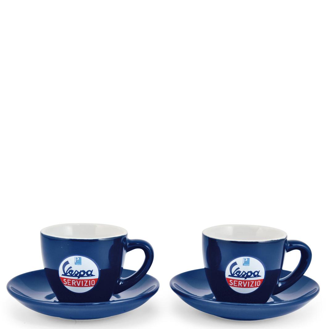 ست دو تایی فنجان قهوه خوری وسپا مدل  Servizio