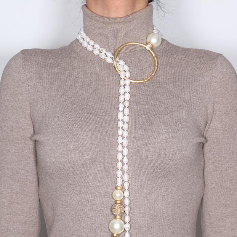 گردنبند مروارید کولوکو مدل Sidney
