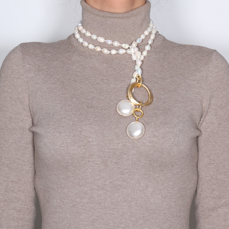 گردنبند مروارید کولوکو مدل San Petesburgo