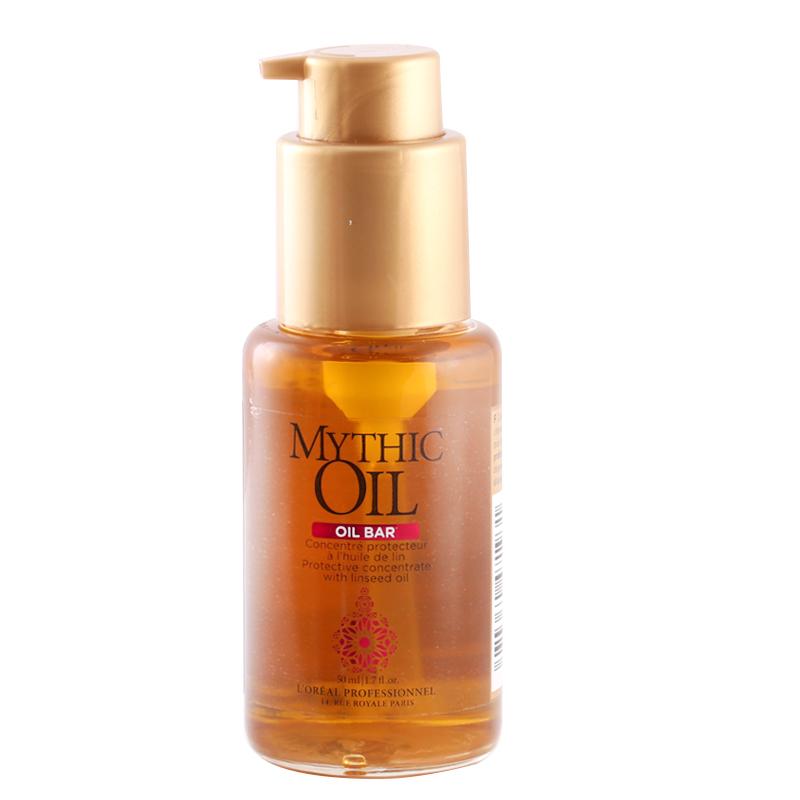 روغن محافظت کننده موهای رنگ شده لورال پروفشنال 50 میل مدل Mythic Oil