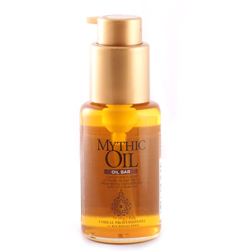 روغن تغذیه کننده موهای خشک لورال پروفشنال مدل Mythic Oil حجم 50 میل