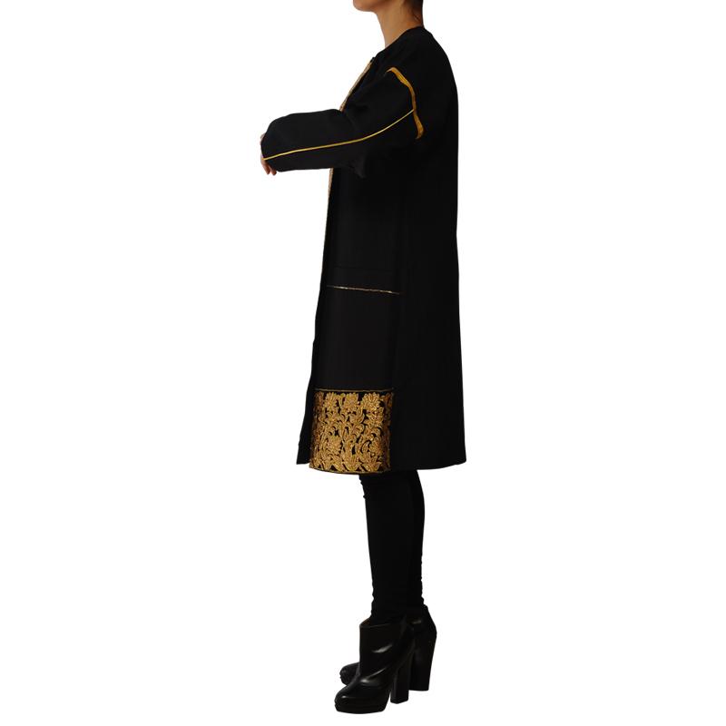 مانتو شاهدخت پارسی مدل سنگدوزی طلایی