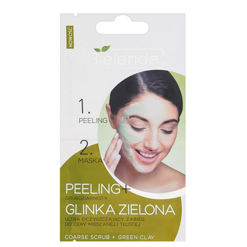 ماسک پاک کننده قوی پوست چرب و مختلط بی يلندا مدل Green Clay مقدار 5 گرم