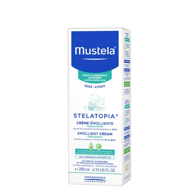 كرم مرطوب کننده پوست های خیلی خشک موستلا مدل Stelatopia حجم 200 میل