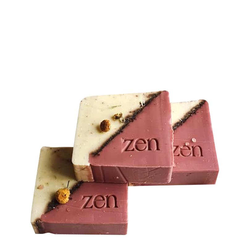 صابون دست ساز ذِن حاوی اکسید آهن وزن 100 گرم