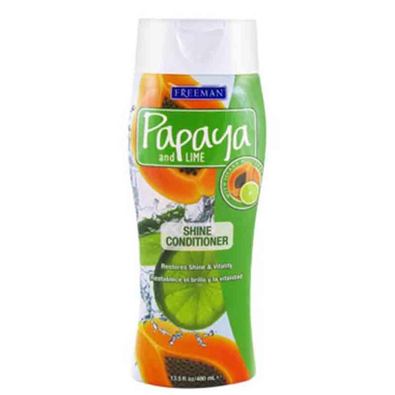 نرم کننده درخشان کننده مو فریمن حاوی عصاره پاپایا و لیمو حجم 400 میل