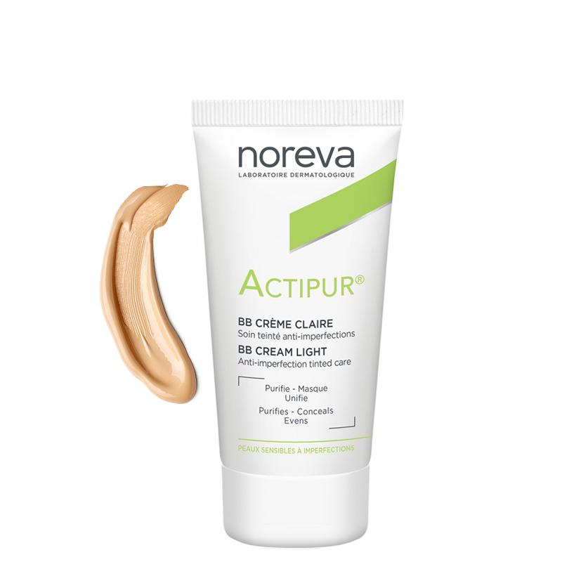 کرم ضد جوش نوروا مدل Actipur BB Cream حجم 30 میل - بژ روشن