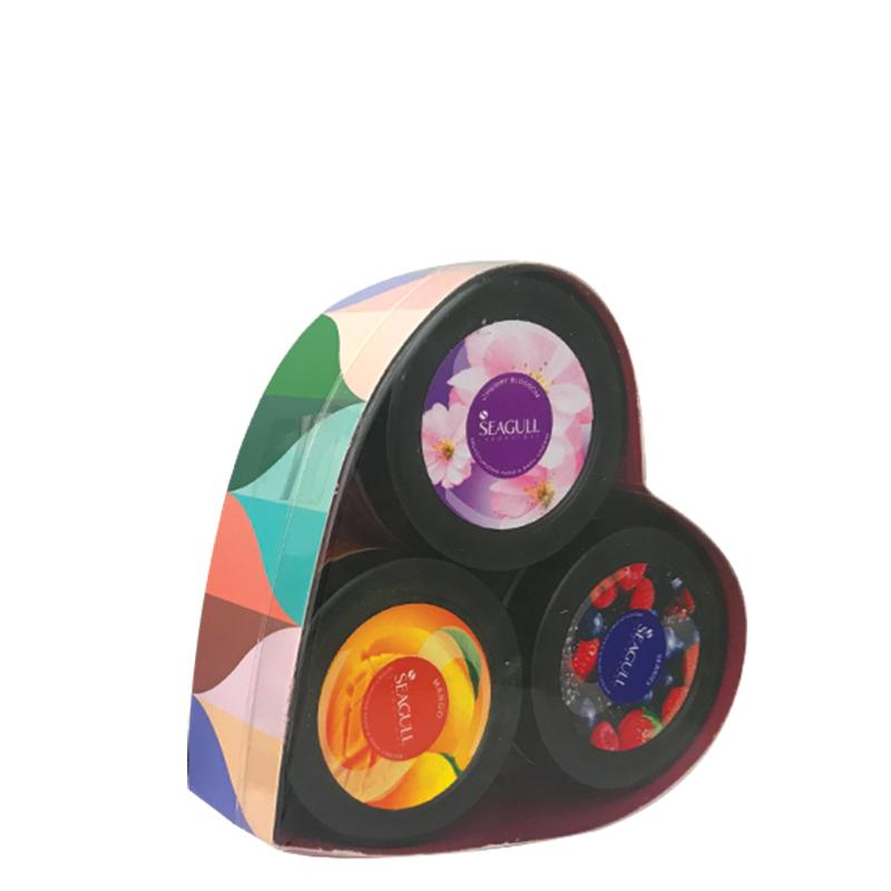 پک سه عددی مرطوب کننده سی گل مدل شکوفه وزن 100×3 گرم