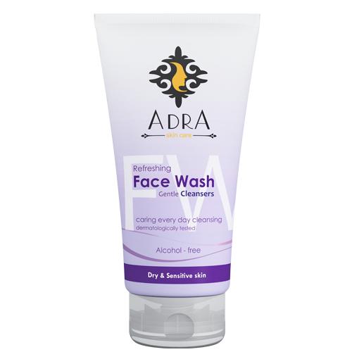 ژل شستشو صورت آدرا مناسب پوست های خشک و حساس حجم 150 میل