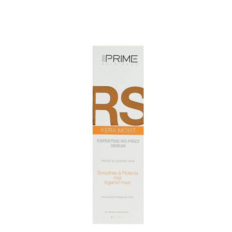 سرم نرم کننده مو پریم مناسب موهای وز دار مدل RS حجم 120میل