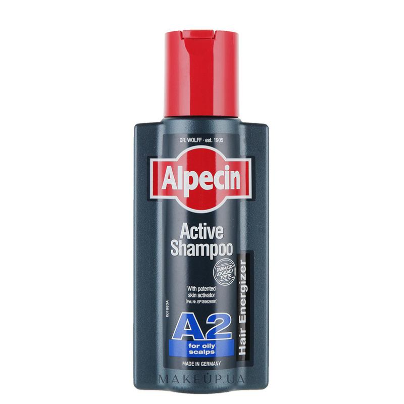 شامپو ضد ریزش موهای چرب آلپسین مدل A2 حجم 250 میل
