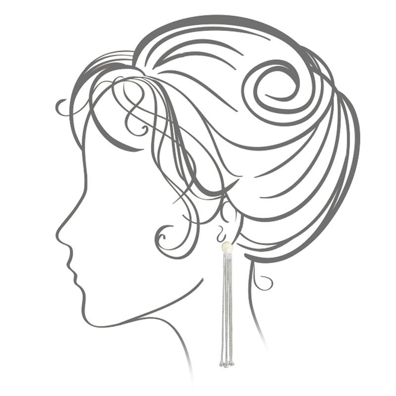 گوشواره ادوریتا مدل Hilo