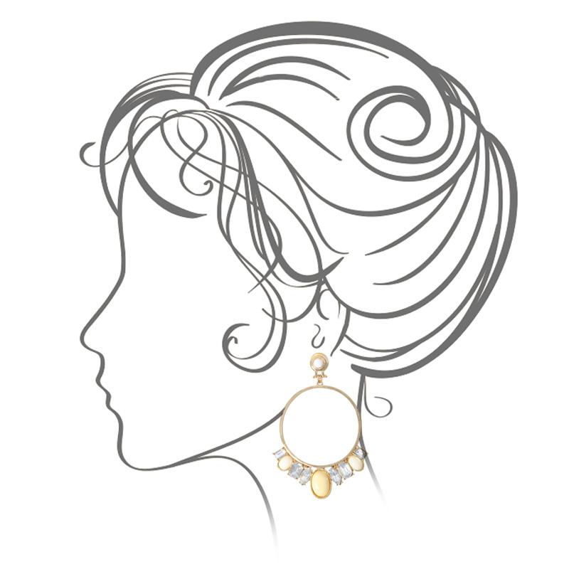 گوشواره ادوریتا مدل Noncha
