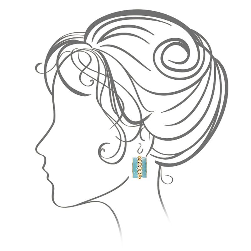 گوشواره ادوریتا مدل Azul