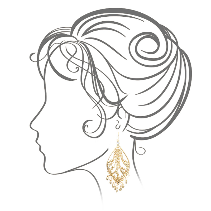 گوشواره ادوریتا مدل Dorada
