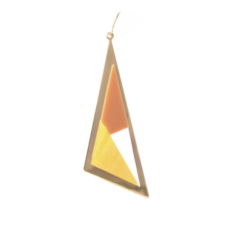 گوشواره ادوریتا مدل Tricolor Castano