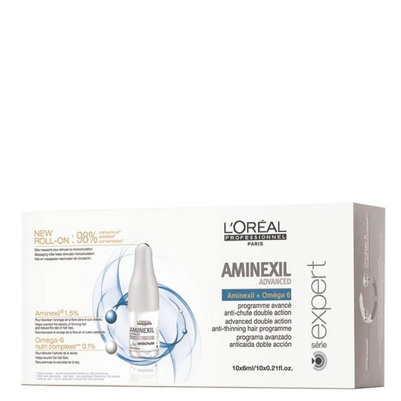 کپسول ضدریزش مو لورال پروفشنال مدل Aminexil Advanced