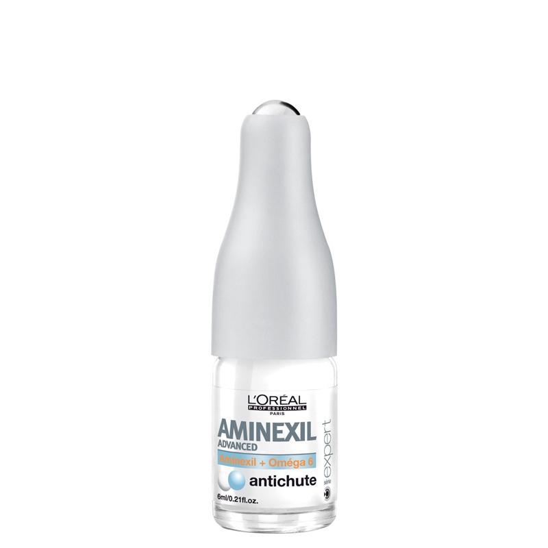 پک کپسول 42 تایی ضدریزش مو لورال پروفشنال مدل Aminexil Advanced حجم 6*42 میل