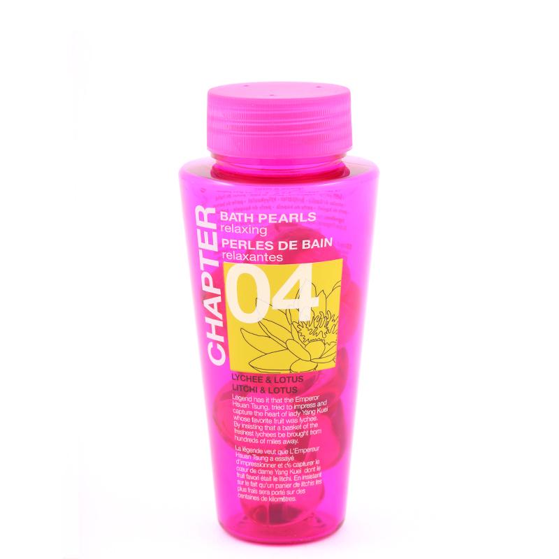 نرم کننده پوست برای وان حمام چپتر 12عدد با رایحه لیچی و گل نیلوفر