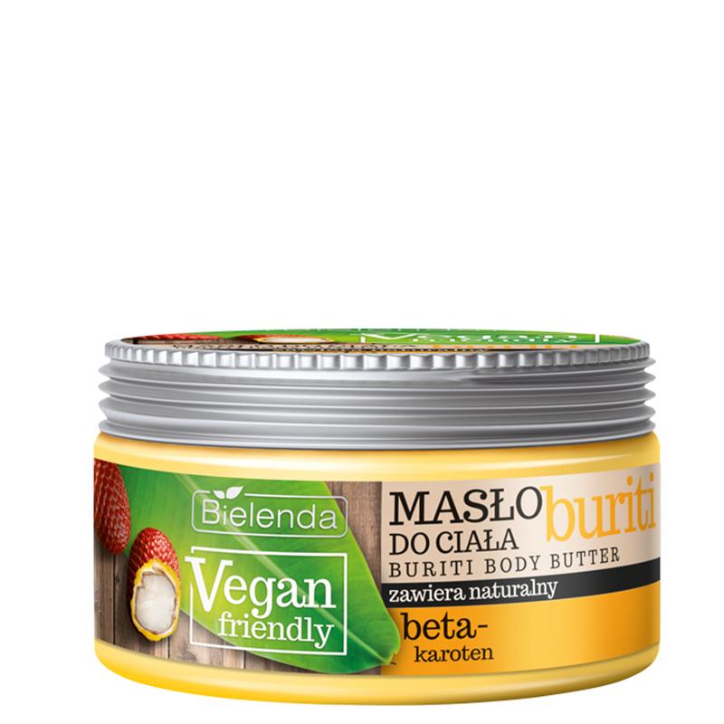 کره بدن بی یلندا حاوی عصاره میوه بوریتی مدل Vegan Friendly حجم 250 میل
