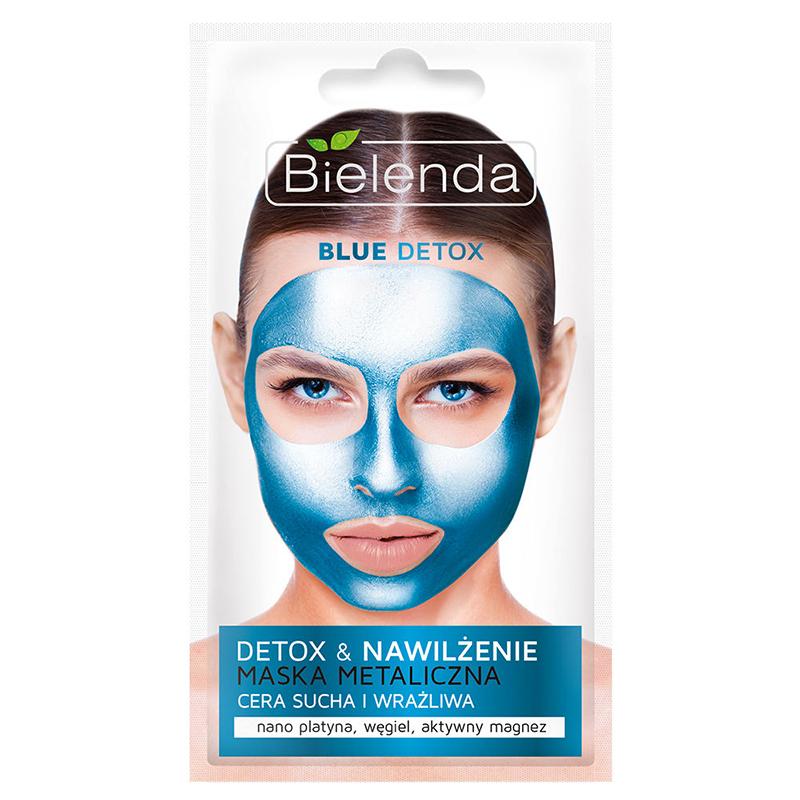 ماسک پاکسازی کننده آبی صورت مناسب پوست های خشک و حساس بی یلندا وزن 8 گرم