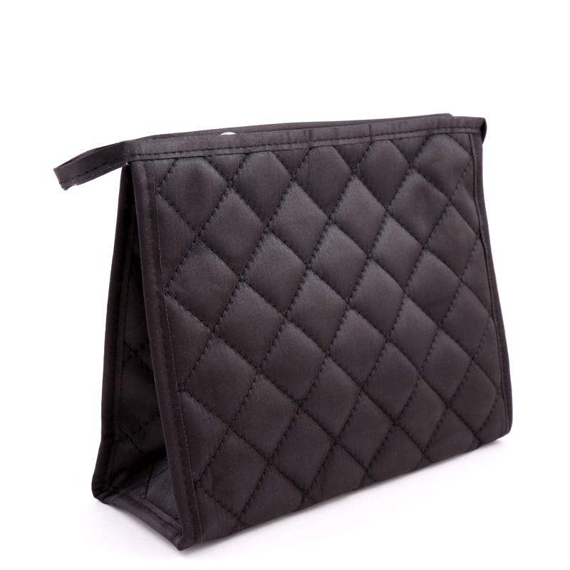 کیف لوازم آرایش بزرگ دوخت دار بیوتی - بزرگ