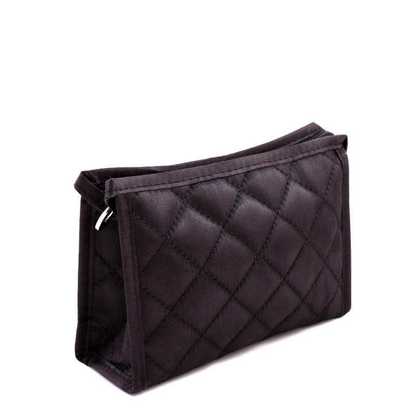 کیف لوازم آرایش بزرگ دوخت دار بیوتی - کوچک
