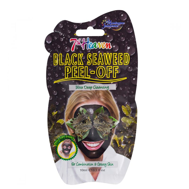 ماسک صورت مونته ژنه مدل 7th Heaven حاوی جلبک سیاه حجم 10 میل