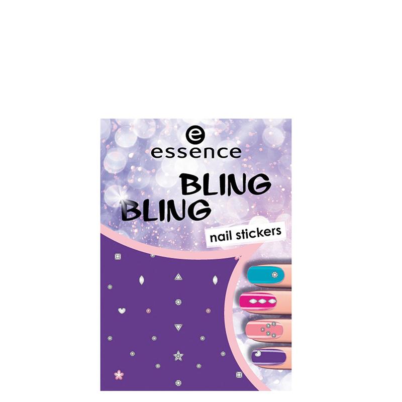 برچسب ناخن اسنس مدل Bling Bling شماره 01