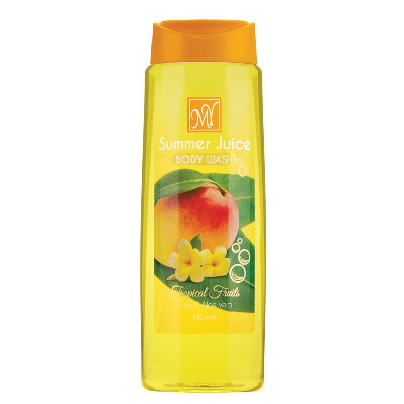 شامپو بدن مای مدل Summer Juice حجم 420 میل