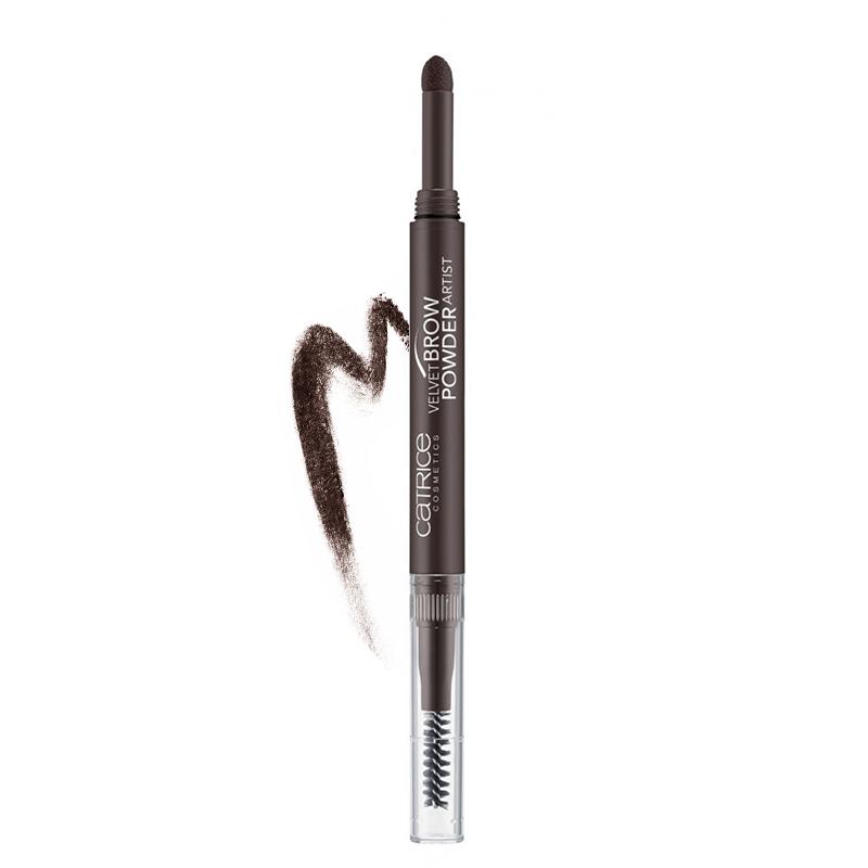 قلم پودری ابرو کاتریس Velvet Brow Powder Artist شماره 030 - قهوه ای تیره