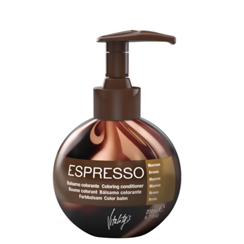 شامپو رنگ ژله ای ویتالیتیس مدل Espersso حجم 200 میل - قهوه ای