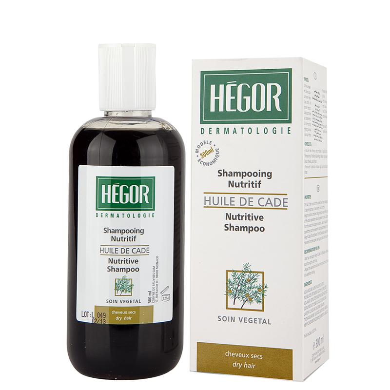 شامپو تغذیه کننده مخصوص مو خشک هگور مدل Cade Oil