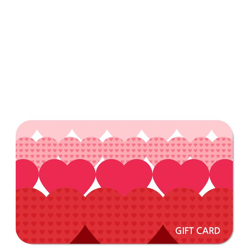 کارت هدیه ۵۰،۰۰۰ تومانی طرح قلب