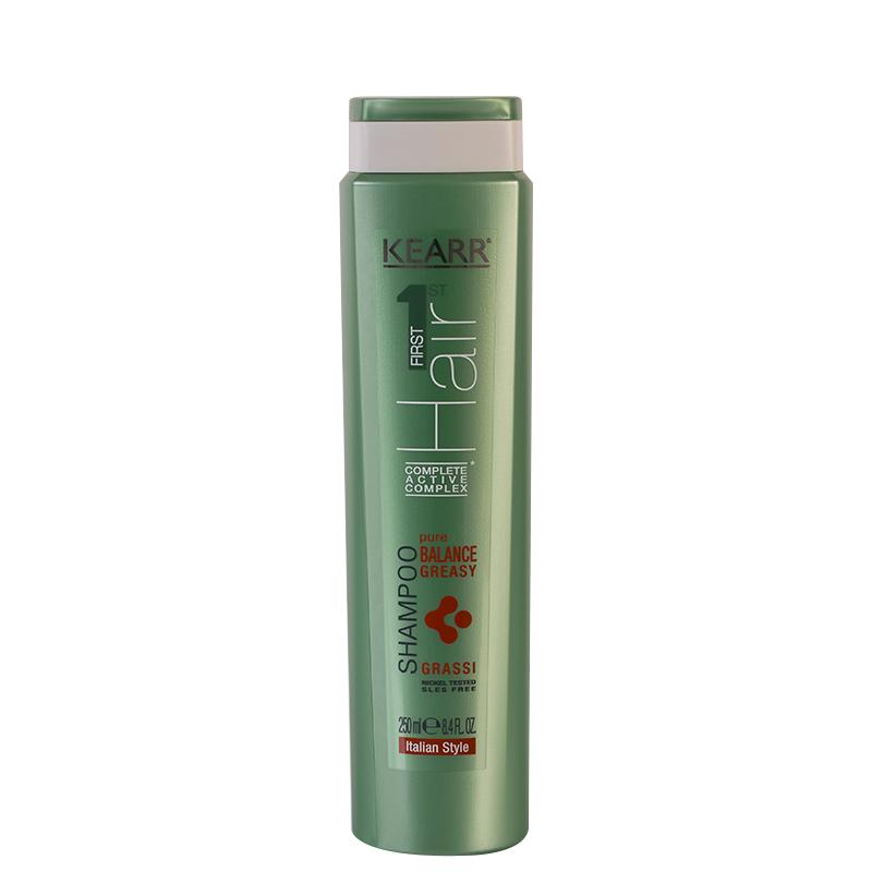 شامپو کِ آر مناسب برای موهای چرب حجم 250 میل