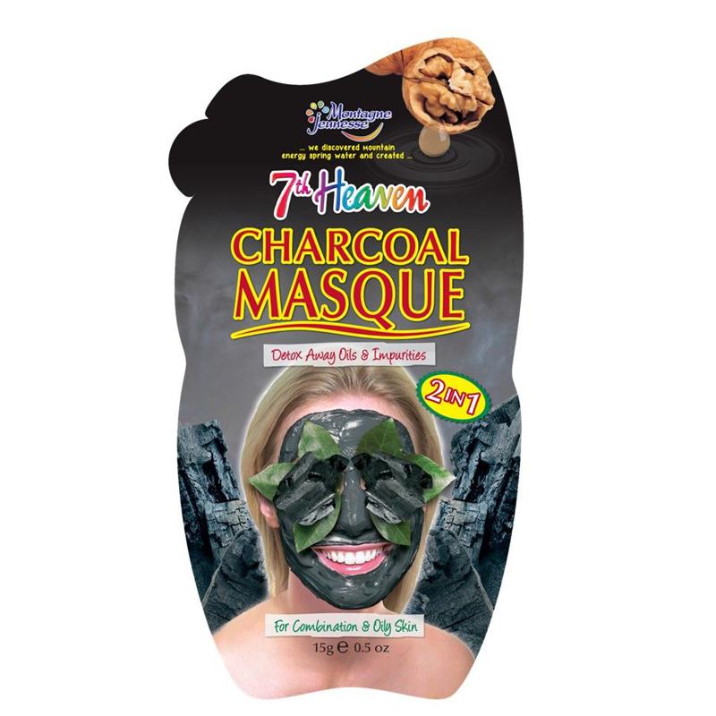 ماسک صورت سون هون مونته ژنه حاوی زغال چوب وزن 15 گرم