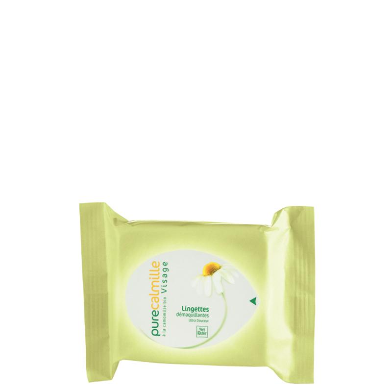 دستمال مرطوب پاک کننده آرایش ایوروشه مدل Pure Calmille