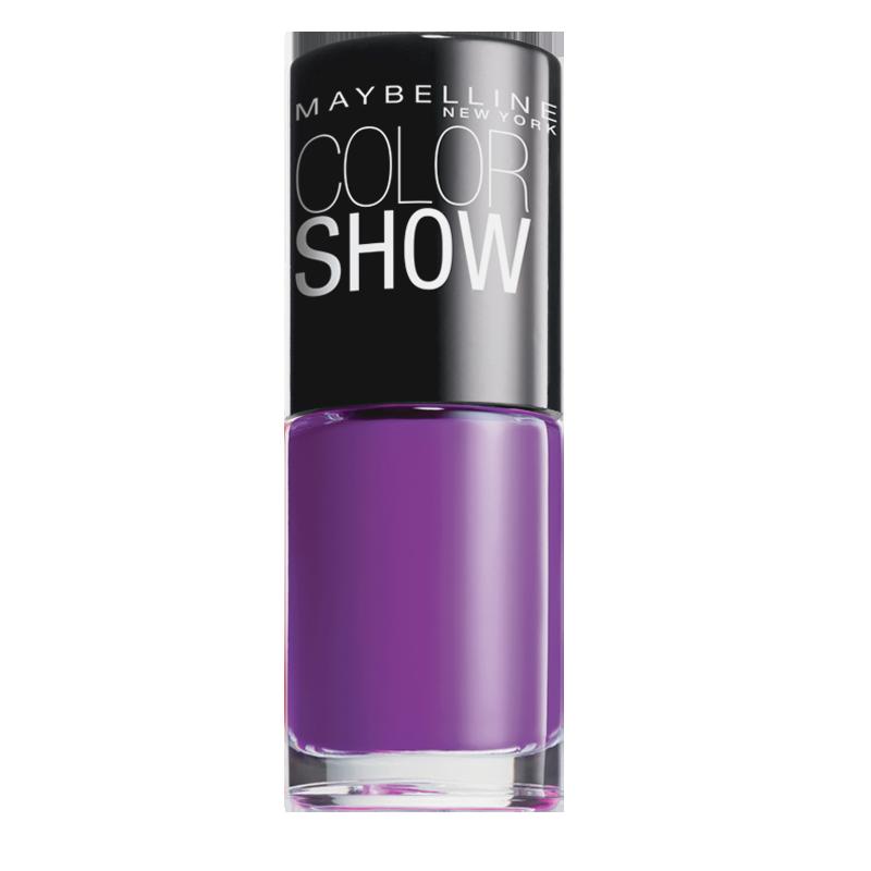 لاک ناخن میبلین مدل Color Show شماره 554 - بنفش