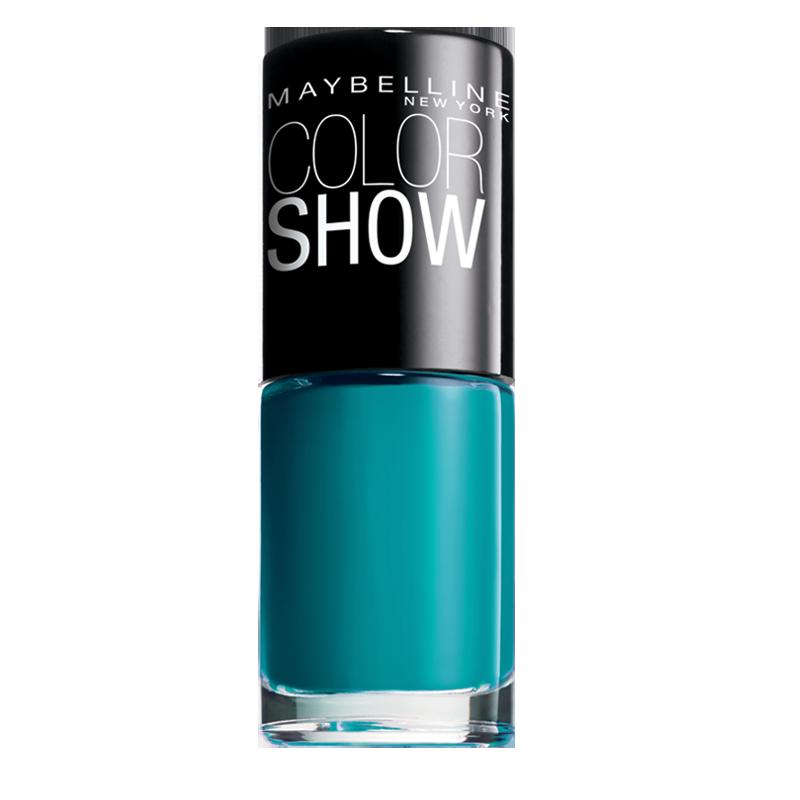 لاک ناخن میبلین مدل Color Show شماره 651 - سبز فیروزه ایی