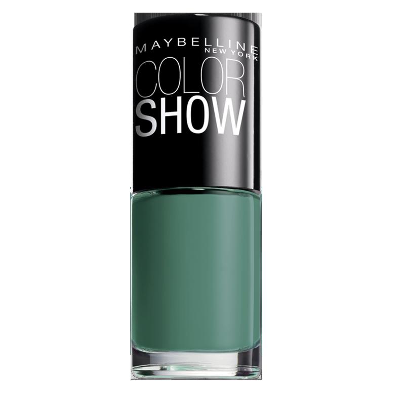 لاک ناخن میبلین مدل Color Show شماره 652 - سبز تیره