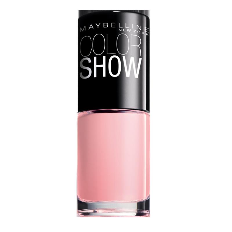 لاک ناخن میبلین مدل Color Show شماره 70 - صورتی روشن